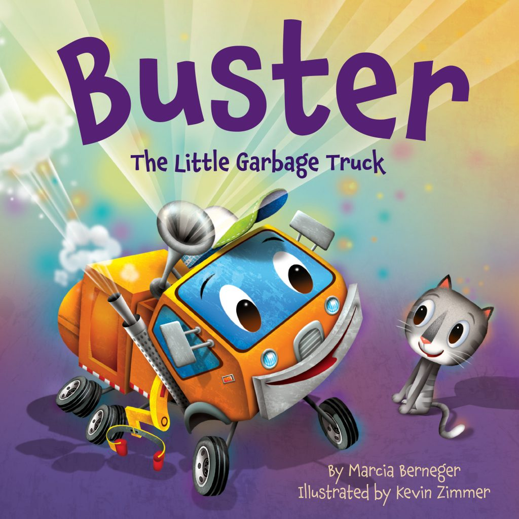 Buster The Little Garbage Truck by Marcia Berneger