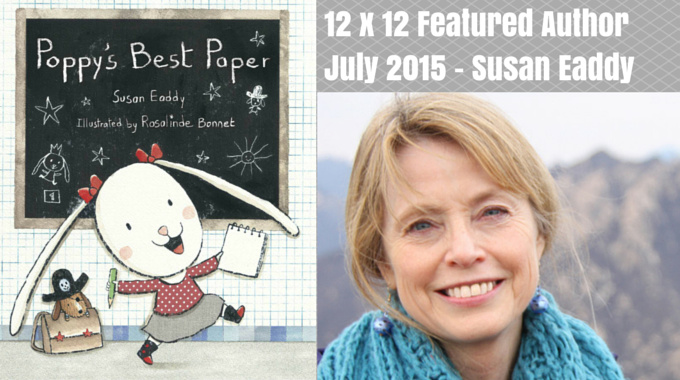 Susan Eaddy – 12 X 12 Featured Author July 2015