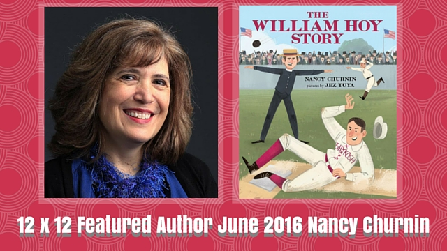12 X 12 Featured Author June 2016 – Nancy Churnin