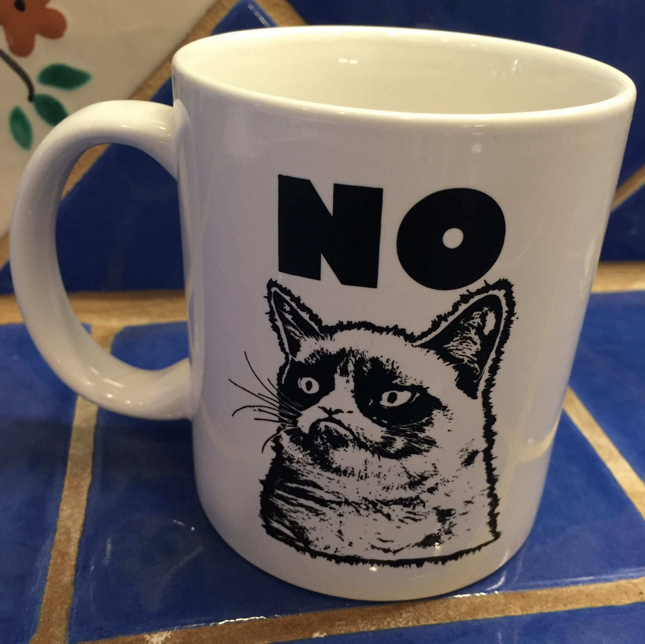 12 x 12 Grumpy Cat Rejection Mug