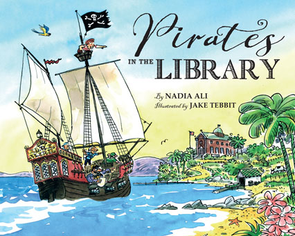 Pirates in the Library by Nadia -Ali