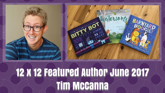 12 X 12 June 2017 Featured Author – Tim McCanna