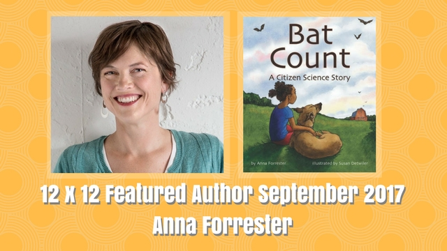 12 X 12 Featured Author September 2017 – Anna Forrester