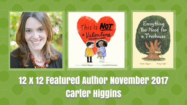 12 X 12 Featured Author November 2017 – Carter Higgins
