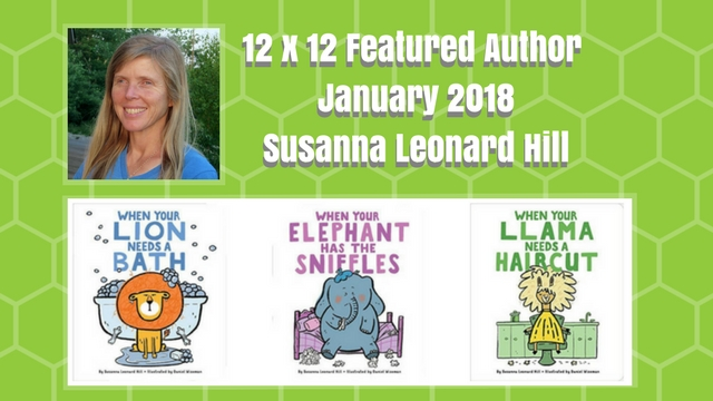 12 X 12 Featured Author January 2018 – Susanna Hill