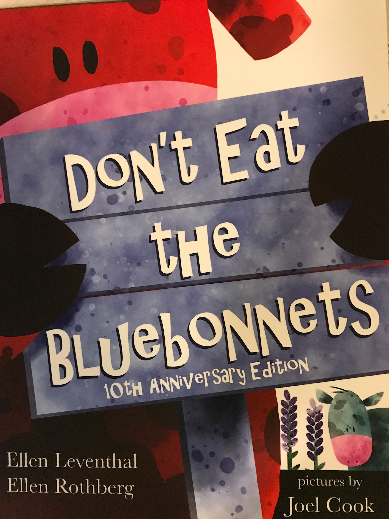 DON'T EAT THE BLUEBONNETS