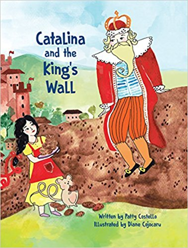 CATALINA AND THE KINGS WALL by Patty Costello
