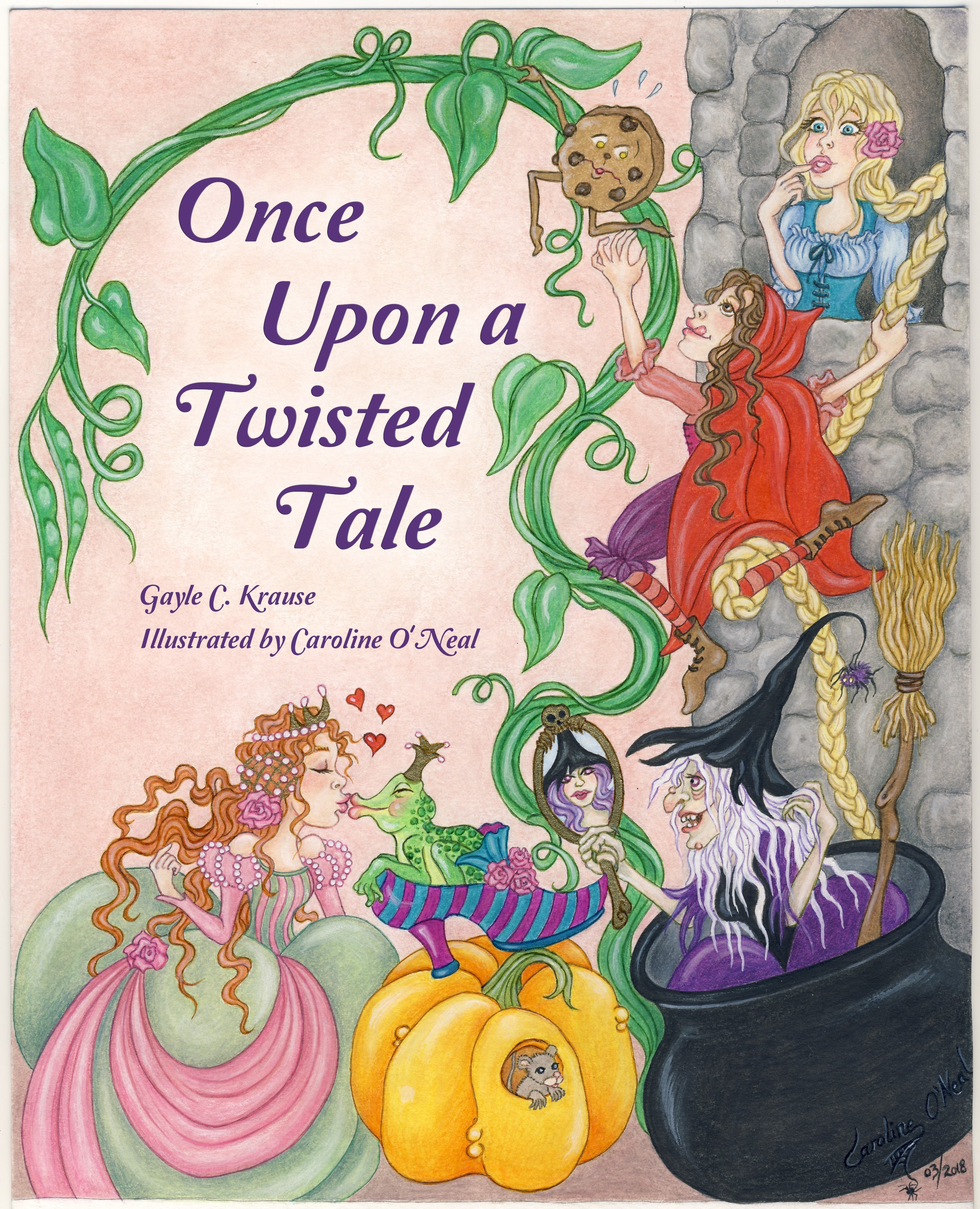Once Upon A Twisted Tale by Gail Krause