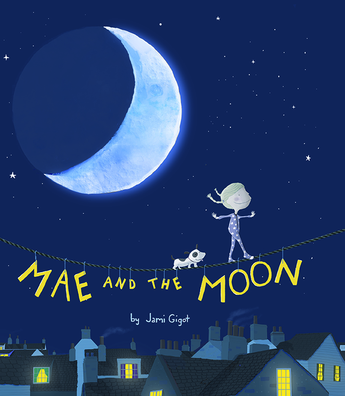 Mae And The Moon_by Jami Gigot