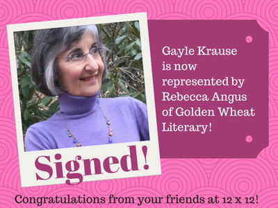 Gayle Krause with Rebecca Angus