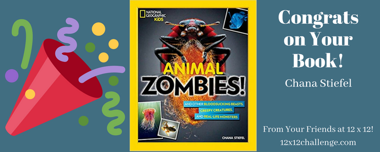 Chana Stiefel Book Birthday Animal Zombies