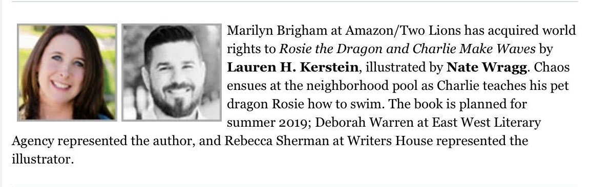 Lauren Kerstein PW Announcement