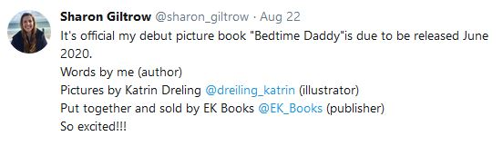 Sharon Giltrow Bedtime Daddy Contract