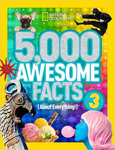 5000 AWESOME FACTS by Alison Pearce Stevens