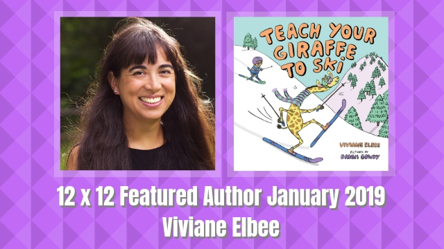 12 X 12 Featured Author January 2019 – Viviane Elbee