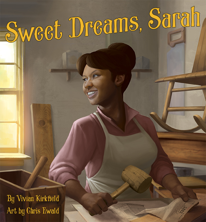 Sweet Dreams Sarah by Vivian Kirkfield