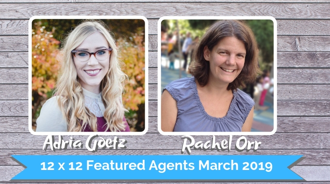 Adria Goetz And Rachel Orr – 12 X 12 Featured Agents March 2018
