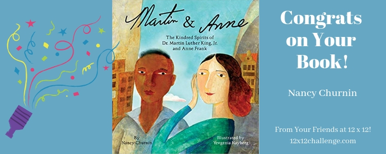 Martin & Anne by Nancy Churnin