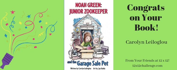 Noah Green Junior Zookeeper by Carolyn Leiloglou