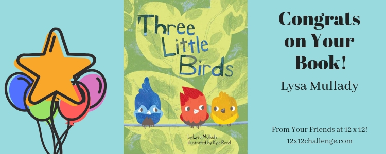Three Little Birds by Lysa Mullady