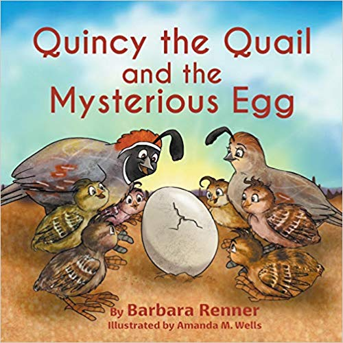 Quincy The Quail By Barbara Renner