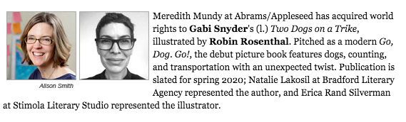 Gabi Snyder TWO DOGS ANNOUNCE