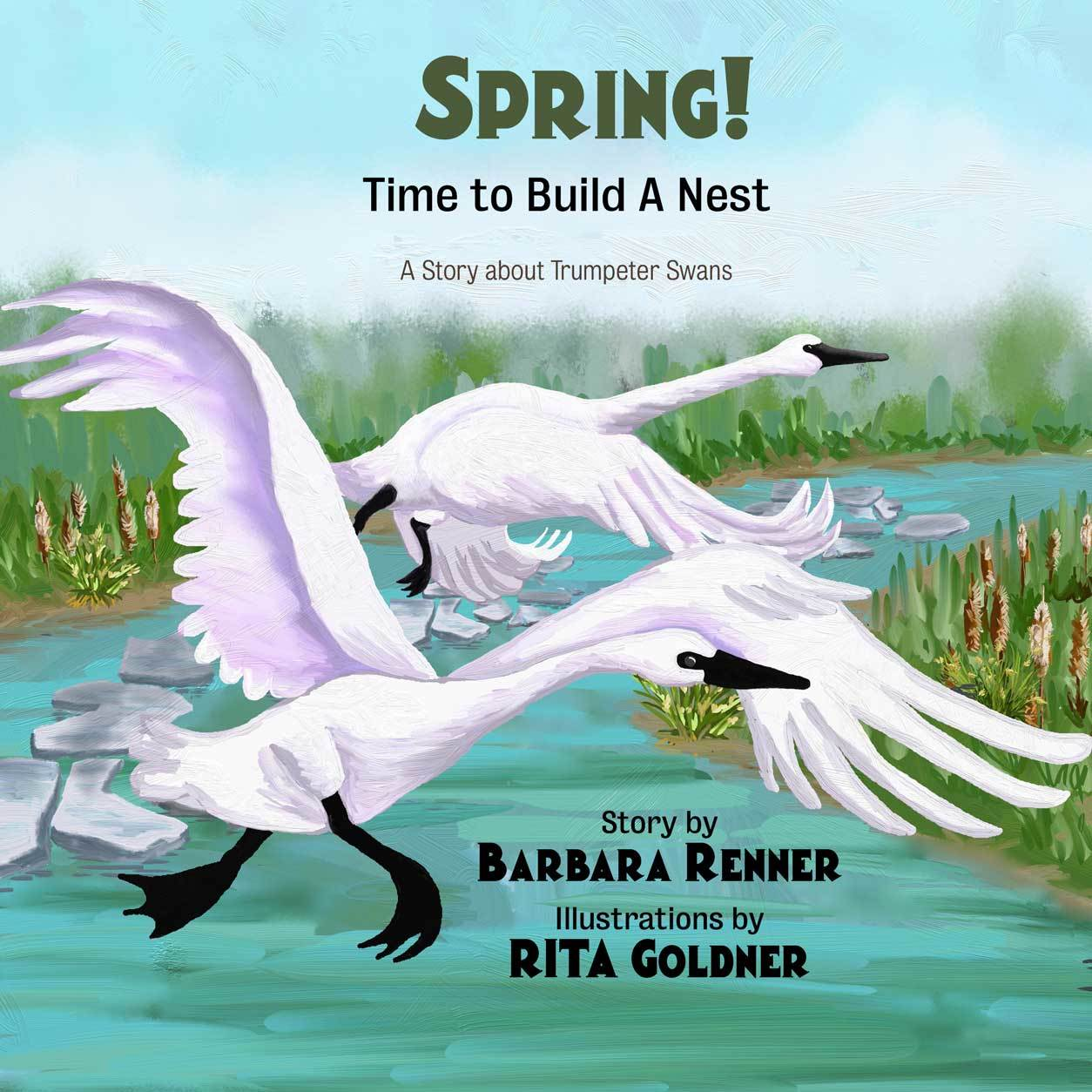 Spring Time to Build a Nest by Barbara Renner