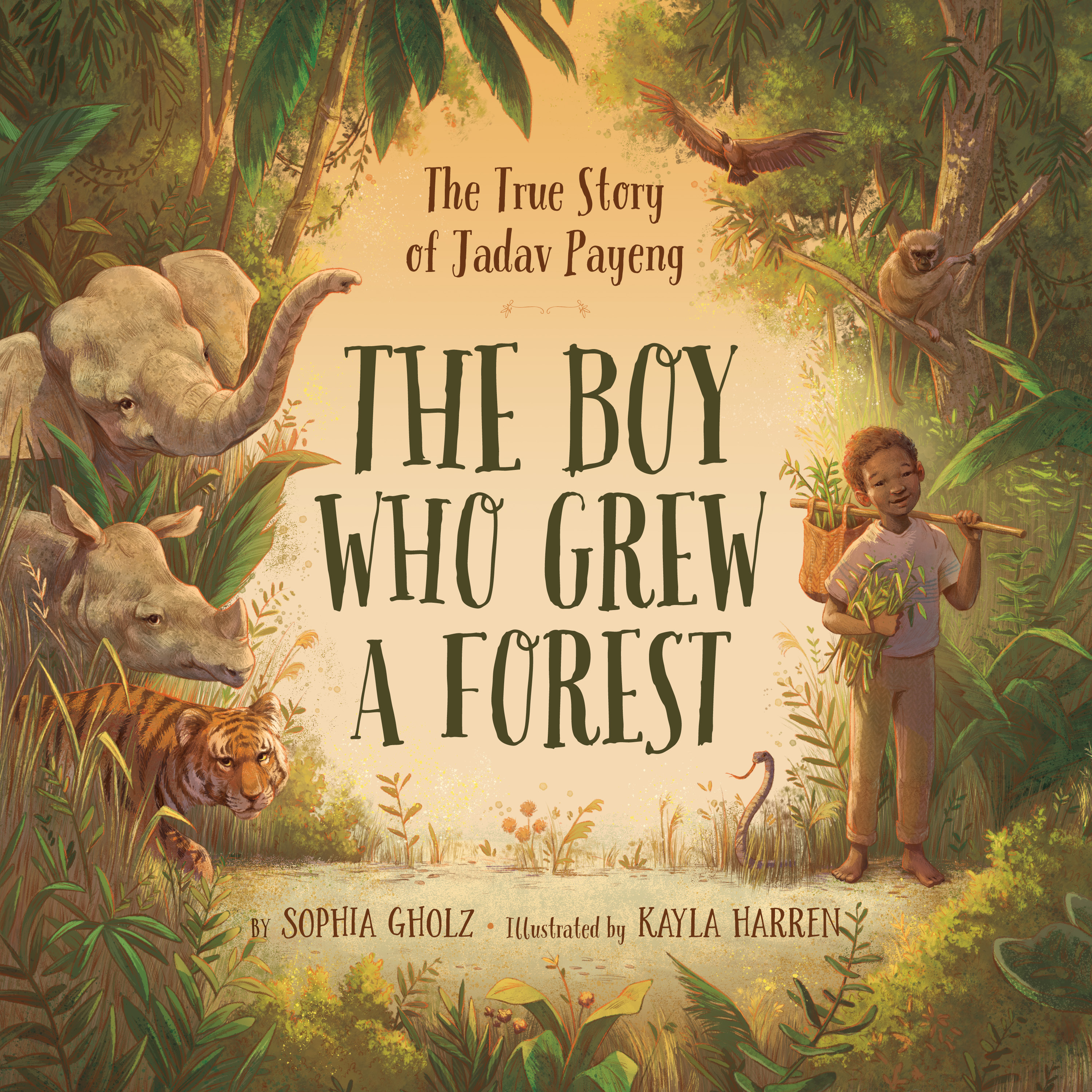 The Boy Who Grew A Forest by Sophia Gholz