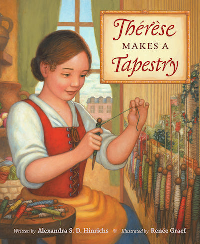 Therese Makes Tapestry by Alexandra Hinrichs