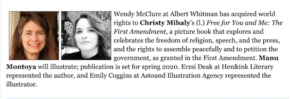 Christy Mihaly Book Deal