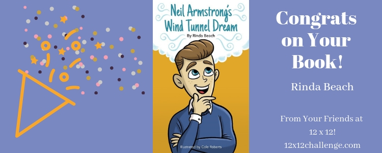 Neil Armstrong by Rinda Beach banner