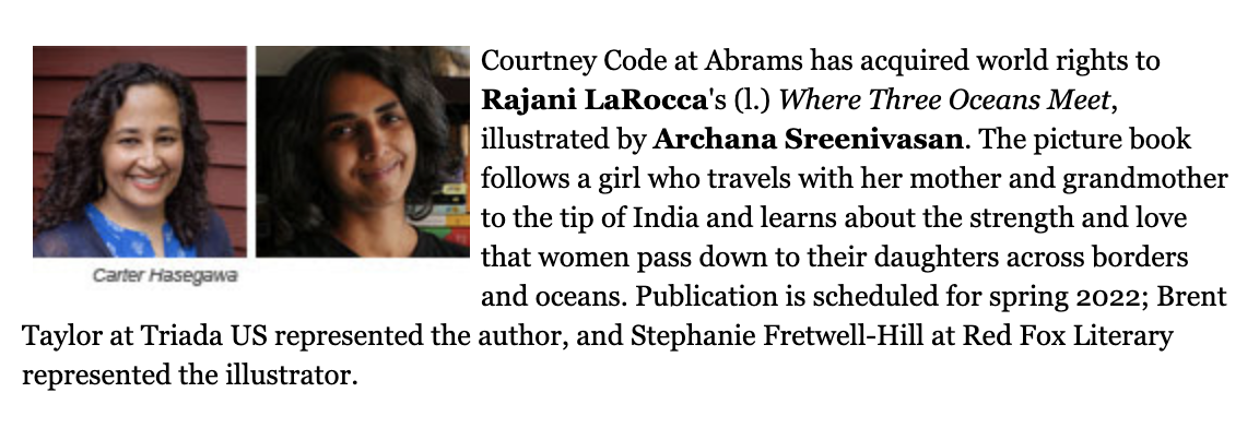 Rajani LaRocca Book Deal