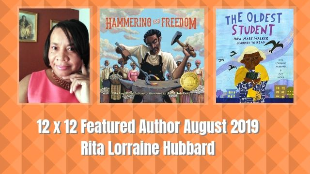 Rita Lorraine Hubbard – 12 X 12 August 2019 Featured Author