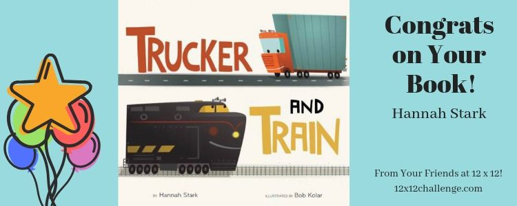 Trucker and Train by Hannah Stark