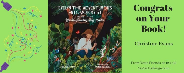 Evelyn the Adventurous Etmologist by Christine Evans banner