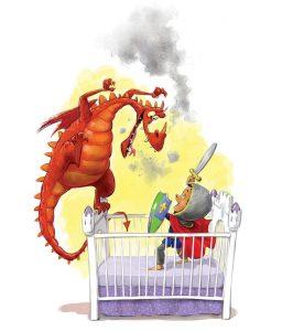 When a Dragon Moves In Again crib spot