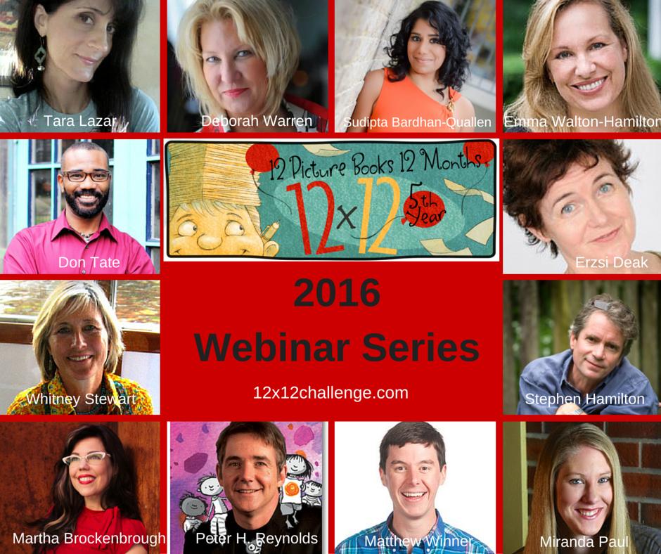 12 X 12 Webinar Series For 2016