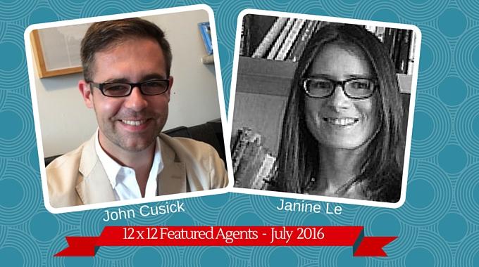 John Cusick & Janine Le – 12 X 12 Featured Agents July 2016
