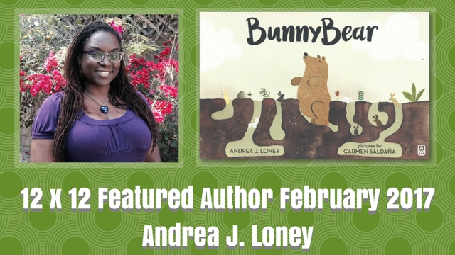12 X 12 February 2017 Featured Author – Andrea J. Loney