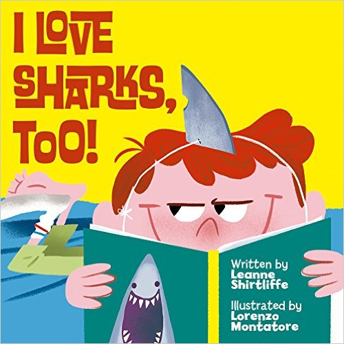 SHARKS TOO by Leanne Shirtliffe