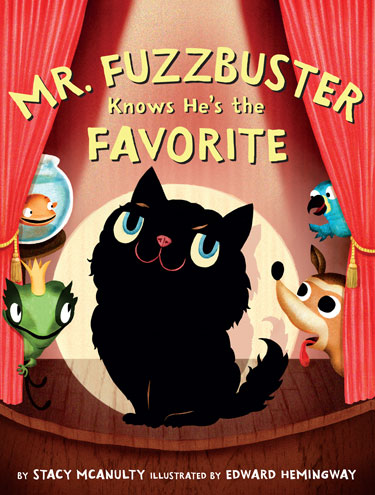 MR. FIZZBUSTER KNOWS HE'S THE FAVORITE