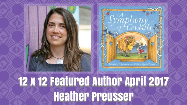 12 X 12 April 2017 Featured Author – Heather Preusser