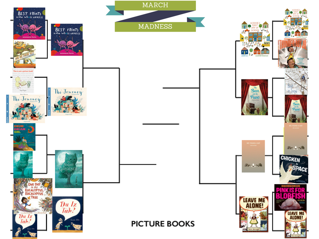 March Madness For Picture Books, Round 2