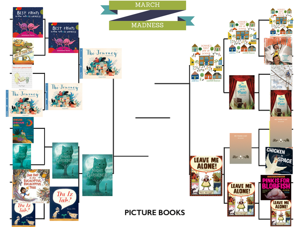 March Madness For Picture Books, Round 3
