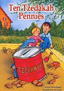 Ten Tzedakah Pennies By Joni Klein-Higger