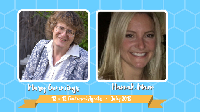 Mary Cummings & Hannah Mann – 12 X 12 Featured Agents July 2018