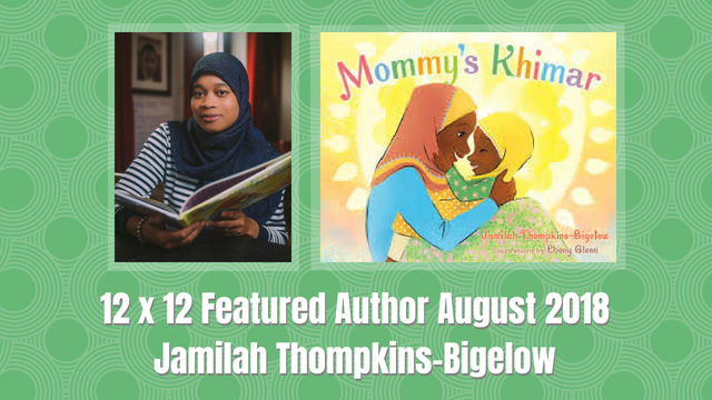 12 X 12 Featured Author August 2018 – Jamilah Thompkins-Bigelow
