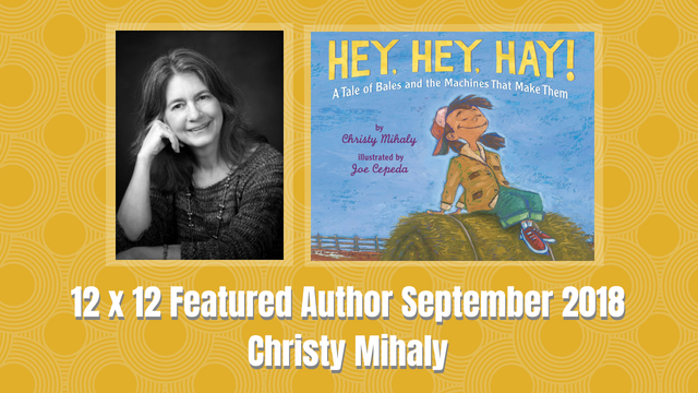 12 X 12 September 2018 Featured Author – Christy Mihaly