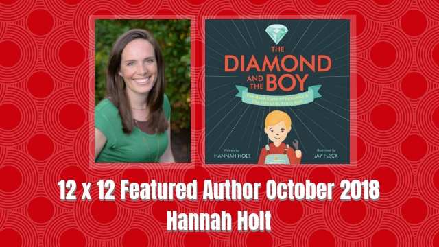 12 X 12 October 2018 Featured Author – Hannah Holt