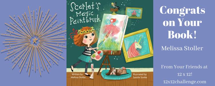 Melissa Stoller - Scarlet's Magic Paintbrush